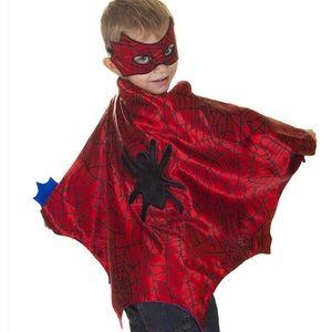 Spider three piece cape set